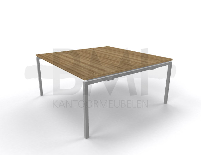 Vergadertafel vierkant 160 x160 cm