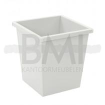 Vierkant tapse papierbak 27 Liter
