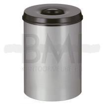 Vlamdovende papierbak 30 liter