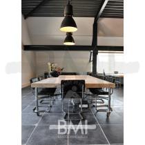 Vergadertafel Steigerhout V-frame