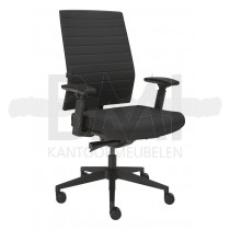 Bureaustoel Stripe zwart
