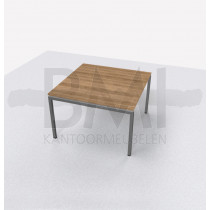 Vergadertafel vierkant 120 x 120 cm
